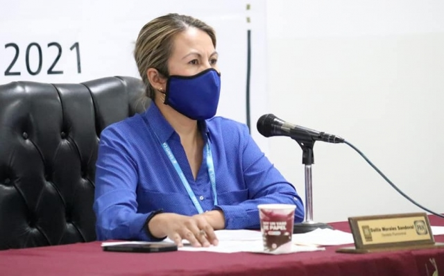 Dalila Morales, diputada local